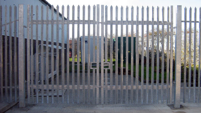 Security Fencing And Gates Supplied And Fitted In